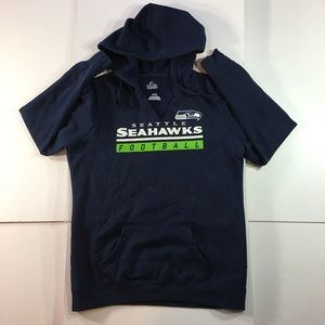 Seattle Seahawks Football Pullover Sweatshirt